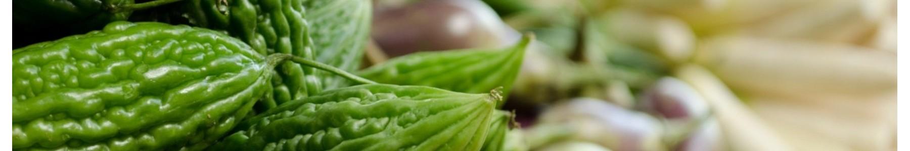 verse producten groenten fruit tofu