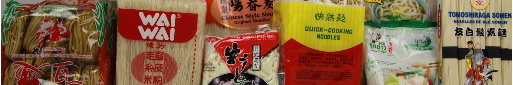 Nouilles, vermicelles et bâtonnets de riz