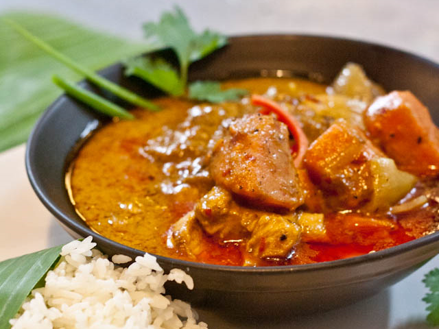 Thais massaman curry